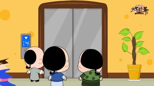 公益广告-文明乘电梯