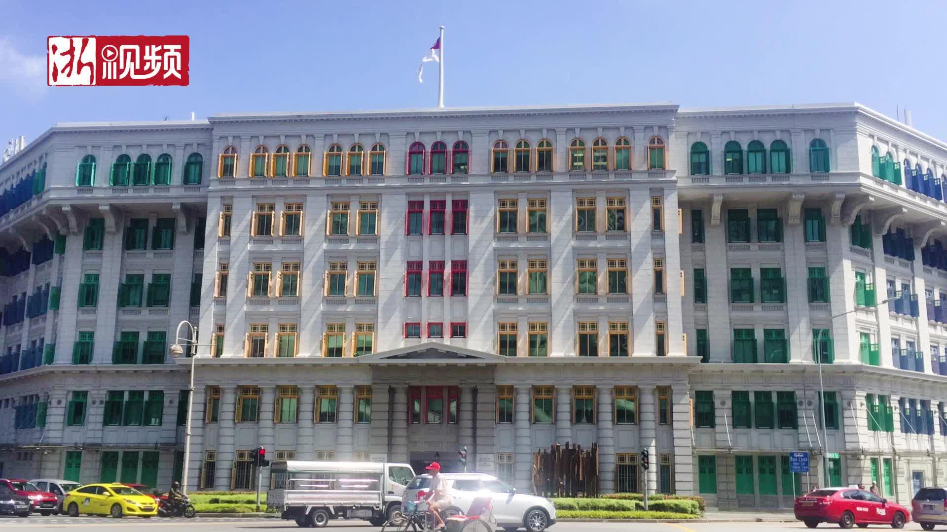 色彩斑斓的建筑竟是警察局