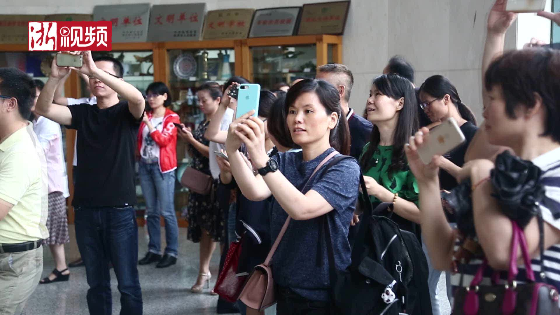 杭州女生刷新中考记录
