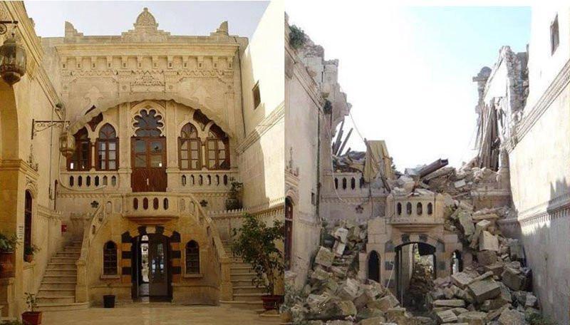 叙利亚战争前后对比触目惊心