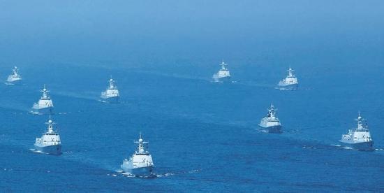 南海阅兵后 我海军18日将前往台湾海峡实弹演习