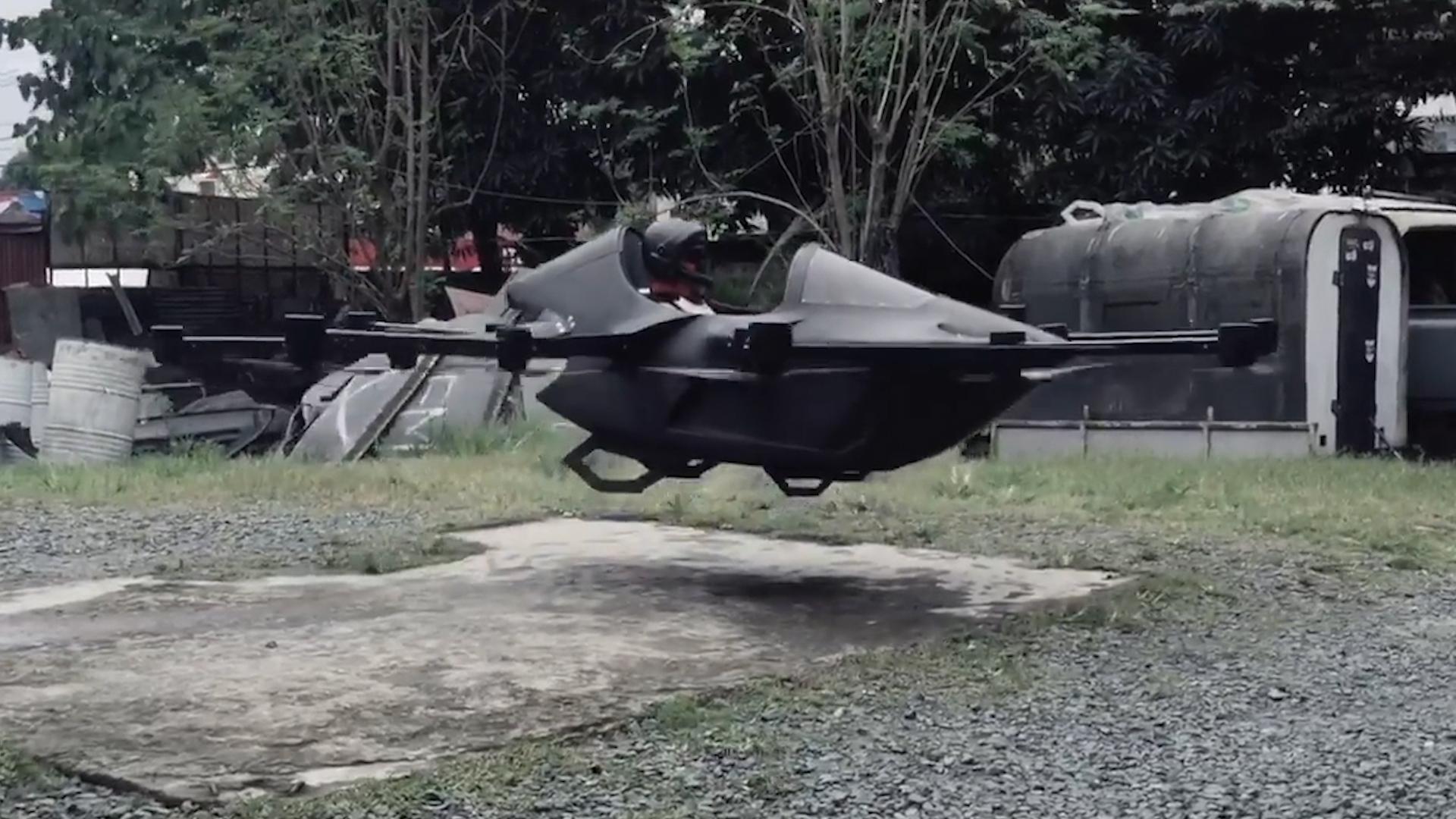 黑龙江农民发明八足载人机器人 就问你敢不敢坐?图片
