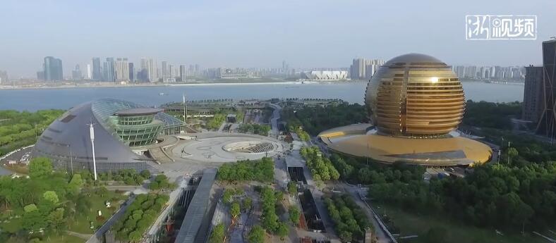 纵瞰城市新地标丨杭州