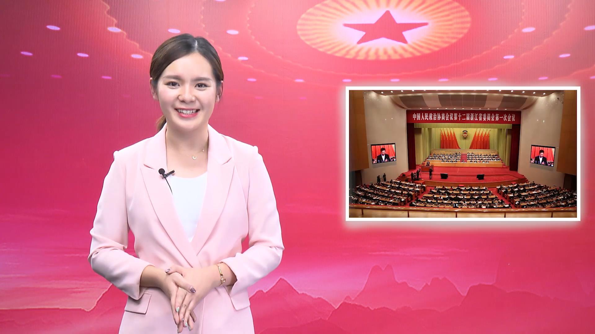 浙视频两会整点播报第3期