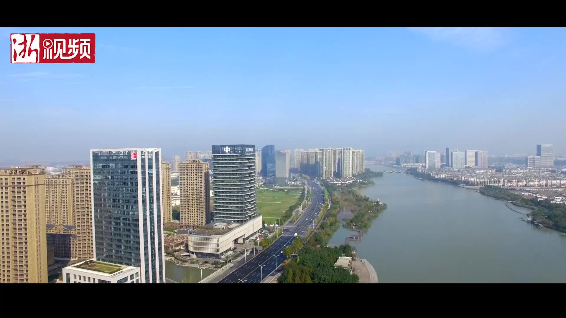 """绍兴第一座""""垂直森林""""大楼诞生 每年减少二氧化碳排放约616吨"""