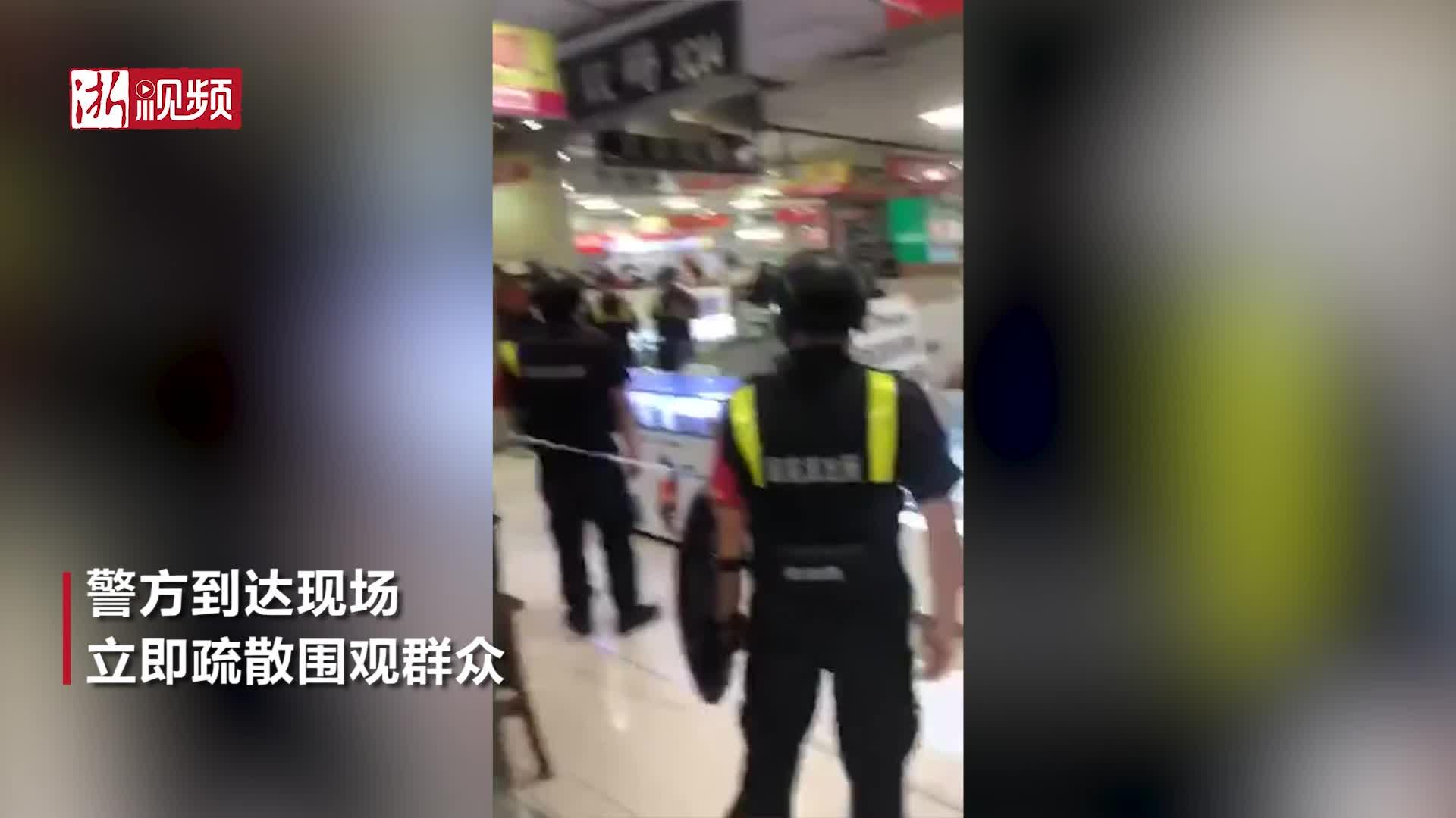 网友爆料:杭州百脑汇疑似有爆炸物品