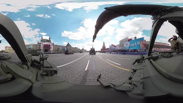 VR视频 | 卫国战争胜利日,驾驶苏-27战机参加红场大阅兵