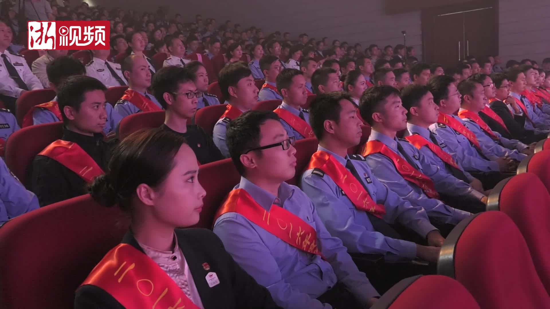 用奋斗书写青春故事 省公安厅庆建团95周年