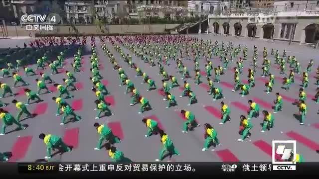 """大连凌水小学""""最强""""课间操精彩上演"""