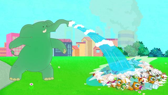 可可小爱-公益环保系列-第24集《防治雾霾 请勿随地焚烧垃圾》
