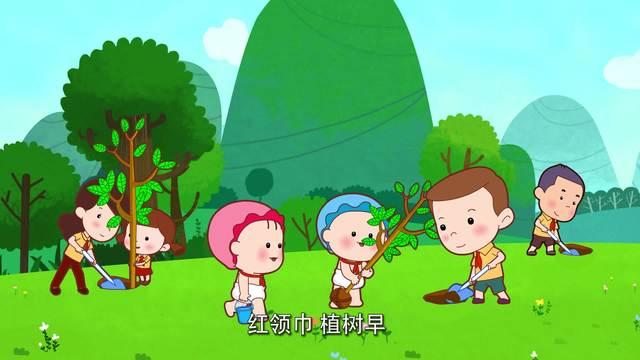 可可小爱-公益环保系列-第28集《植树造林 为漓江增色》