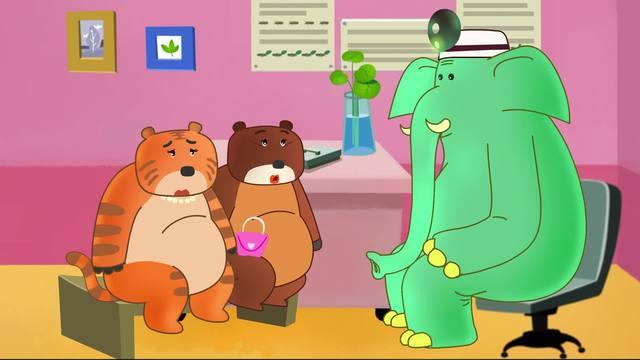 可可小爱-健康医疗系列-第1集《多吃素好 健康环保》