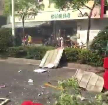 7月21日杭州煤气爆炸