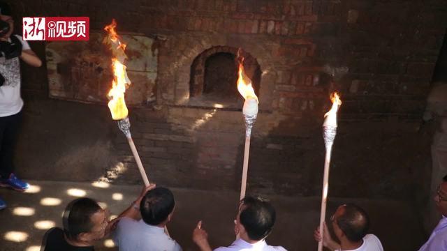 火了火了!义乌千年古窑今天重新复烧制陶