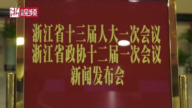 """2018浙江省""""两会""""新闻发布会举行"""