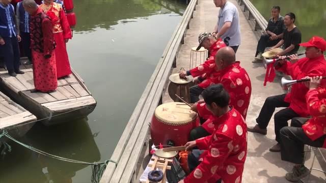 九姓渔民传统水上婚礼