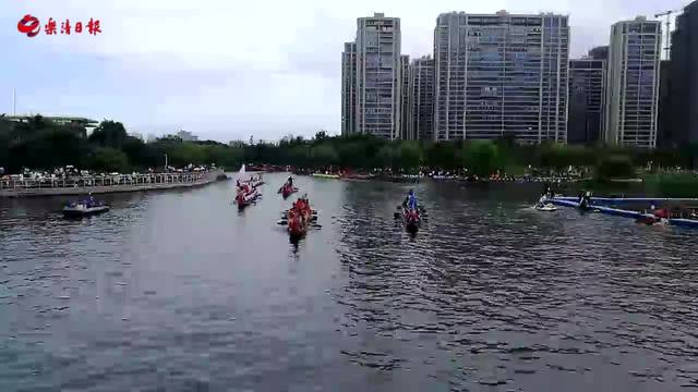 回放 | 直播乐清传统龙舟表演