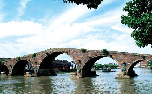 VR视频:杭州广济桥夜景