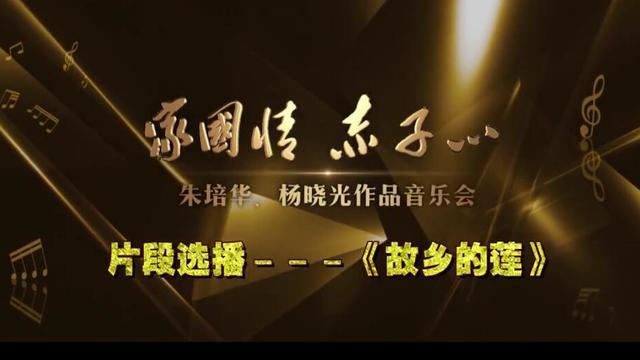 优秀青年女高音歌曲家金瑶深情演唱《我爱故乡的莲》