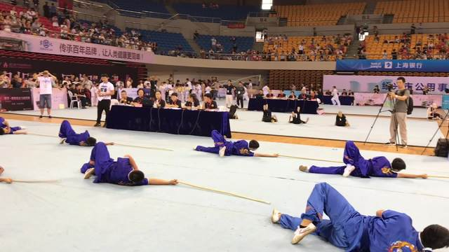 第十三届浙江国际传统武术比赛颁奖典礼