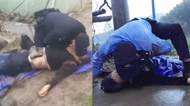 感动!黄岩民警两度跪冰冷泥地人工呼吸救老人