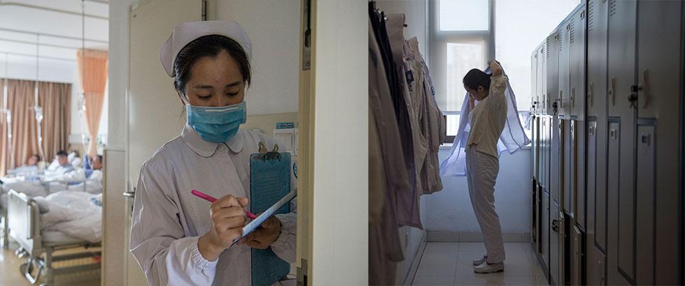 护士节策划:面对烫伤女儿 她说不能走