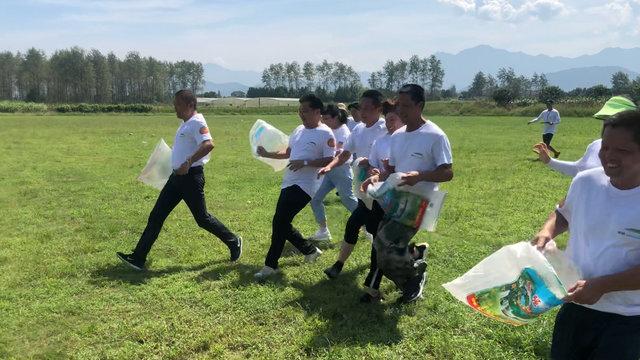 乡村趣味运动会