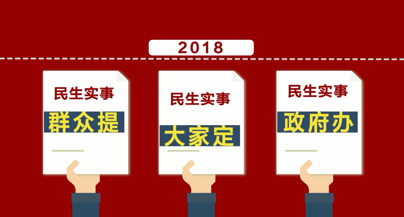 动画:2018年浙江省的十方面民生实事