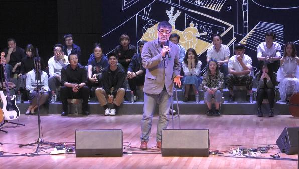 李宗盛来杭州与音乐人畅谈 对于创作他这样说