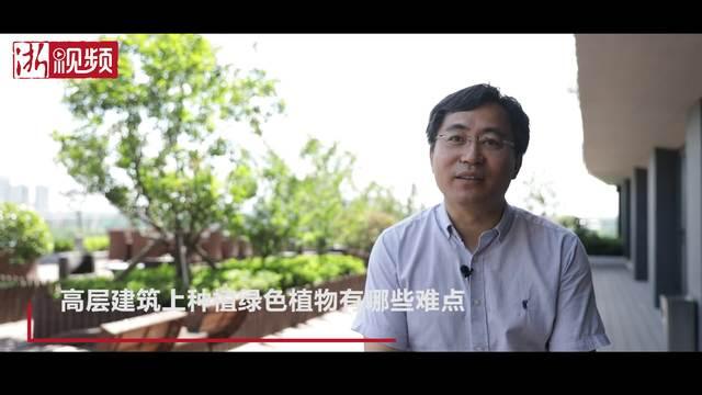"""绍兴建成全省第一幢""""垂直森林""""大楼"""