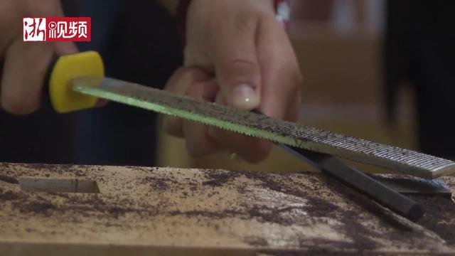 磨筷子做竹编 东阳籍海外华裔及港澳台地区青少年手作初体验