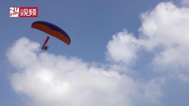 浙江省青少年航空航天模型锦标赛在嘉兴开赛