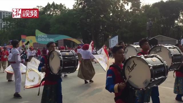 雅加达:关于体育的快乐洋溢在每个人的脸上