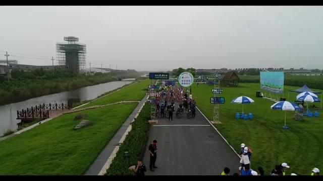 2018绍兴花园滨海公益骑行活动——生态滨海 ·绿色出行正式开骑