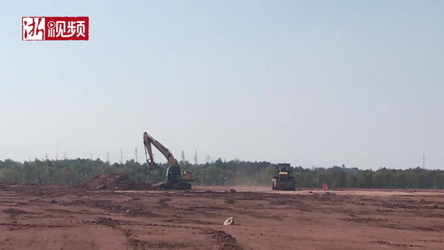 浙江鸿盛新材料生产科研基地项目建设全面铺开
