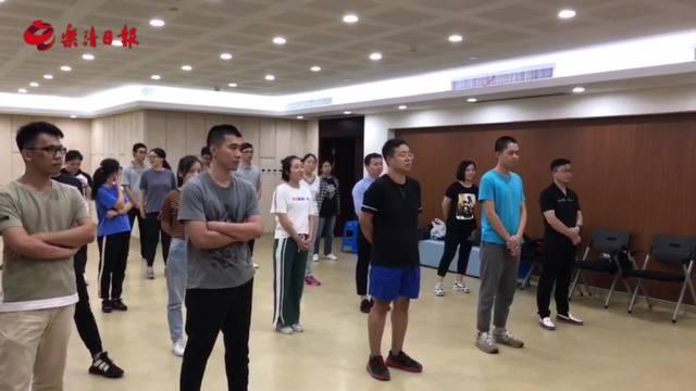 柳市镇第十三期职工公益课堂--街舞培训来啦