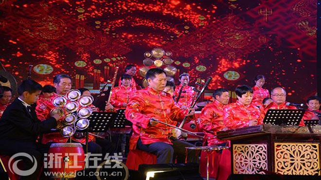 """新昌""""农民种文化""""文艺晚会"""